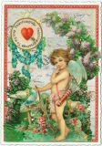 TAUSENDSCHÖN Valentinsgrüße Valentine Greetings To my love postcard