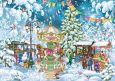 LOVELYCARDS Weihnachtsmarkt - Marina Kaspersky Postkarte