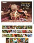 TUSHITA Teddys World postcard book