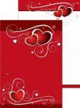 PKS Rote Herzen A4 Block
