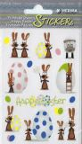 Herma Hasenparty Ostern Sticker