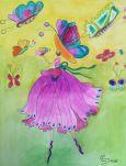 DANACARDS Butterflies - Christina Postkarte