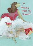 DISCORDIA Natürlich kannst Du fliegen! - Atelier Zebrafisch Postkarte