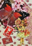 DISCORDIA Butterfly Child - Artichique Design Postkarte