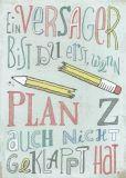 INKOGNITO Ein Versager bist Du erst... / Plan Z - Lilli Bravo postcard