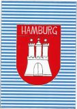 HARTUNG EDITION Hamburg emblem postcard