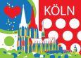 CITYPRODUCTS Köln mit Herz Postkarte