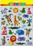 POSTLER Wilde Baby Tiere Sticker