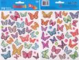 DoubleS Butterflies + Flowers - Schmetterlinge + Blumen Sticker