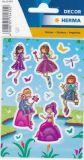 Herma Feen + Meerjungfrau Sticker