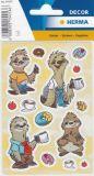 Herma Faultiere Sticker
