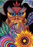 DANACARDS Mandala Eule - Owls Art Suri Postkarte