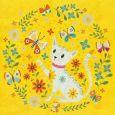 GOLLONG Katze -  Tabula Rosi Postkarte