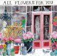 GOLLONG All Flowers for you - Cartita Design Postkarte