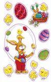 AVANsticker Osterhasen jongliert mit Ostereiern Sticker