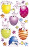 AVANsticker Süße Hasen in Ostereiern Sticker