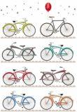 QUIRE Fahrräder Postkarte