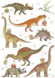 QUIRE dinosaurs postcard