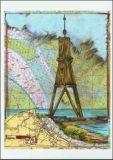 OLE WEST Kugelbake Cuxhaven Postkarte
