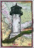 OLE WEST Dicke Berta Cuxhaven Postkarte