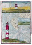 OLE WEST Amrum Land Postkarte