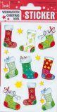 BSB Weihnachtssocken Weihnachten Sticker
