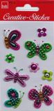 BSB butterflies with blossoms Creativ stickers