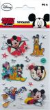 BSB Disneys Mickey & Friends / Mickey + Pluto Creativ Sticker