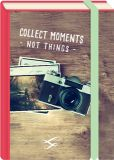 MT Collect Moments - not things / Fotoapparat - Fold & Zip - BK Edition Postkarte