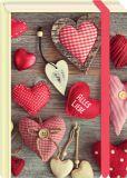 MT Alles Liebe / Herzen - Fold & Zip - BK Edition Postkarte