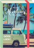 MT Good Luck / Neue Abenteuer warten - Fold & Zip - BK Edition Postkarte