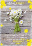 HARTUNG EDITION Dankeschön! Lächeln, Aufmerksamkeit & Danke! IN TOUCH Postkarte