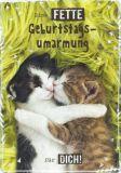 HARTUNG EDITION Fette Geburtstagsumarmung für Dich! IN TOUCH Postkarte