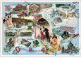 TAUSENDSCHÖN Gruss ausGruss aus Berlin / Collage 3D postcard