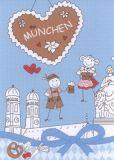 MILA Munich postcard