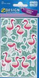 Z-Design Flamingos Sticker