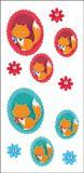 RÖSSLER Filou fox 3D stickers