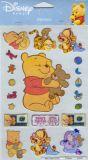 POSTLER Baby Winnie Pooh - teddy glitter sticker