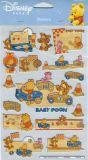 POSTLER Baby Winnie Pooh - car glitter sticker