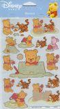 POSTLER Baby Winnie Pooh - beach glitter sticker