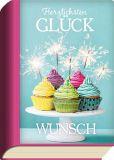 TAURUS-KUNSTKARTEN Herzlichsten Glückwunsch / Cupcakes - BookCard postcard