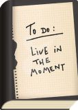 TAURUS-KUNSTKARTEN To do: Live in the moment - BookCard postcard