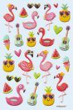 HobbyFun flamingos CREApop Softy Stickers