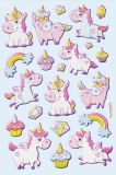 HobbyFun unicorn I CREApop Softy Stickers