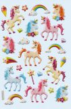 HobbyFun unicorn II CREApop Softy Stickers