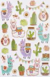 HobbyFun Lama Hobby-Design Sticker