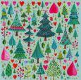 GOLLONG many fir trees - Mila Marquis postcard