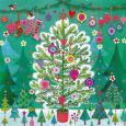 GOLLONG Christmas tree with little fir trees - Mila Marquis postcard