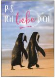 GWBI P. S. Ich liebe Dich / Pinguine - Classic Line Postkarte