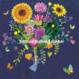 GOLLONG Elfe mit Sonnenblumenstrauß - Mila Marquis Postkarte